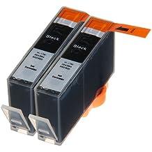 2 Multipack de alta capacidad HP 920 Cartuchos Compatibles 2 negro para HP Officejet 6000, Officejet 6500 AIO WL E710N, Officejet 6500 Wireless, Officejet 7000 E809A, Officejet 7500 WF AIO E910A, Officejet 6500 AIOS, Officejet 7000 Wide Format. Cartucho de tinta . CD975AE © 123 Cartucho