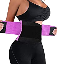 LiGG LiGG buikweggordel verstelbare buikgordel zweetgordel taille trimmer riem fitnessriem om af te nemen en spieropbouw voo