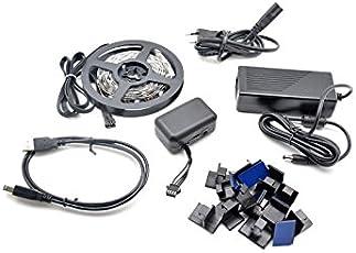 Lightberry HD mit Raspberry PI 3, TV Backlicht, Hintergrundbeleuchtung, HDMI Konverter, Komplettset für 55 Zoll