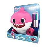Baby Shark Peluche Doodle Me 30cm - Squalo Mamma