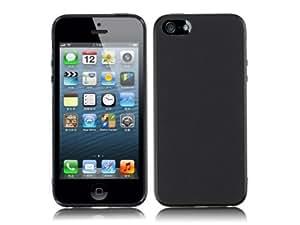 TPU Silikon Schutzhülle iPhone 5 Hülle (schwarz)