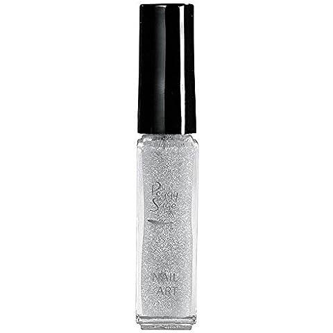 Vernis Nail Art Glitter Argento 7
