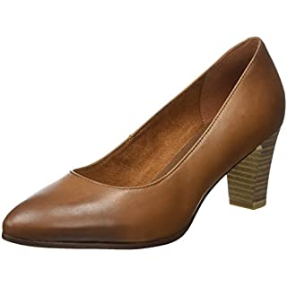 Tamaris Damen 22422 Pumps, Braun (Cognac), 35 EU