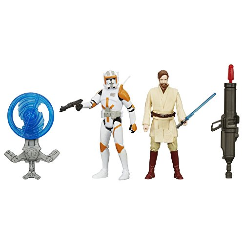 Star Wars Revenge Of The Sith 3.75-inch Obi-wan And Commander Cody Figure thumbnail
