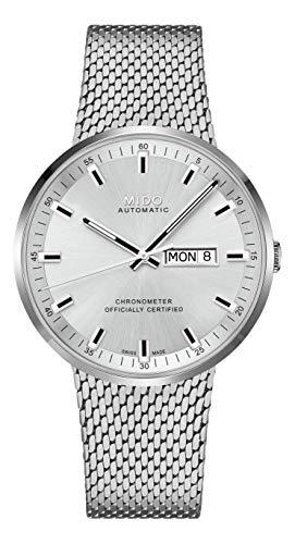 Mido orologio commander acciaio certificato cosc M031.631.11.031.00