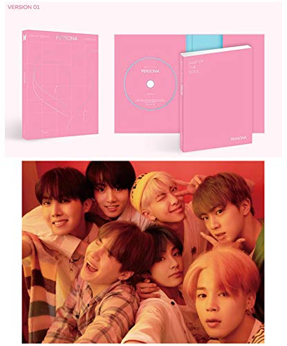 BTS Map of The Soul Persona Album PreOrder Version