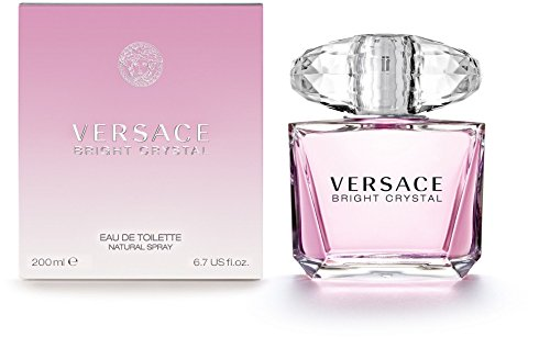 Versace Bright Crystal Eau De Toilette Spray für Sie 200 ml
