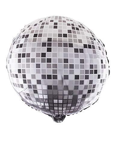 TrendClub100 Folienballon Luftballons Ballon - Discokugel Disco Ball - 18' 46 cm