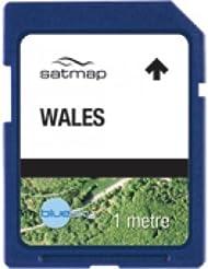Satmap MapKarte: Wales (Aerial 1m)