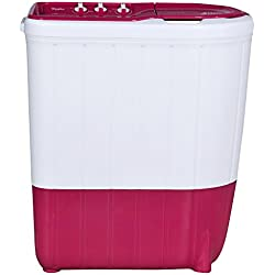 Whirlpool 6 kg Semi-Automatic Top Loading Washing Machine (Superb Atom 60I, Tulip Pink)