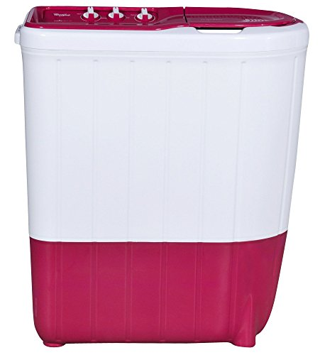 Whirlpool 6 kg Semi-Automatic Top Loading Washing Machine (SUPERB ATOM 6.0, Tulip Pink, TurboScrub Technology)