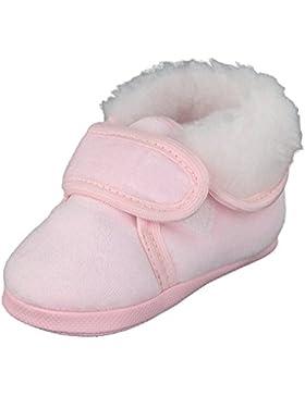 pantau.eu Pantau.eu Gefütterte Babyschuhe Erstlingsschuhe Taufschuhe Babyschühchen Kinderschuhe aus Velours (Nicki...
