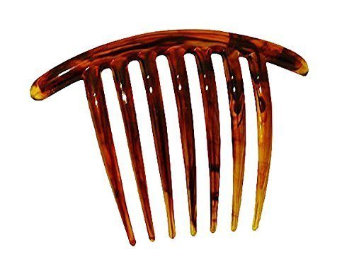 French Twist Comb (set of 5) in Tortoise Shell by Ear Mitts Shell Mitt