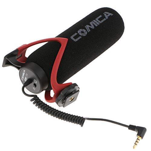 D DOLITY Comica cvm-v30 Shotgun Kamera Mikrofon mit Superniere Gerichtete Kondensator Fotografie Interview Leicht Video Mikrofon für DSLR Kameras