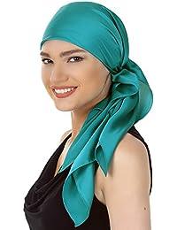 Gute Qualität Quadratische Schals Für Haarverlust, Krebs (90cm x 90cm)