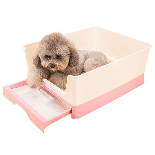 TENDA.FEI Baño de Interior para Perros con Cerca y cajón, Caja de...