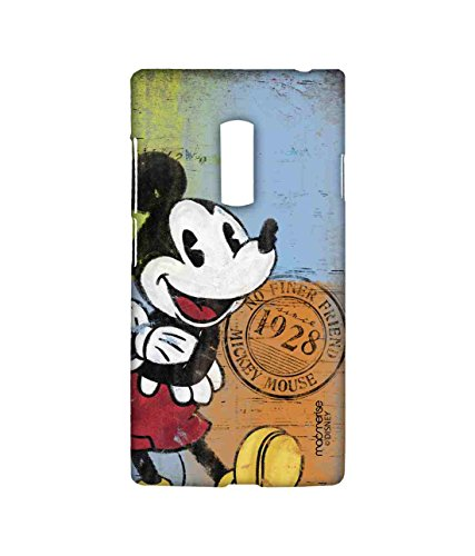 Macmerise Licensed Disney Mickey Mouse Premium Printed Back cover Case for OnePlus 2