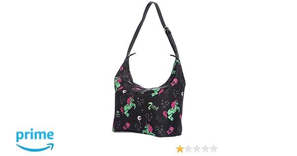 Shopper UNICORN ZOMBIE BOHO BAG 7112 Schwarz one size Hell Bunny ZnxwOEj