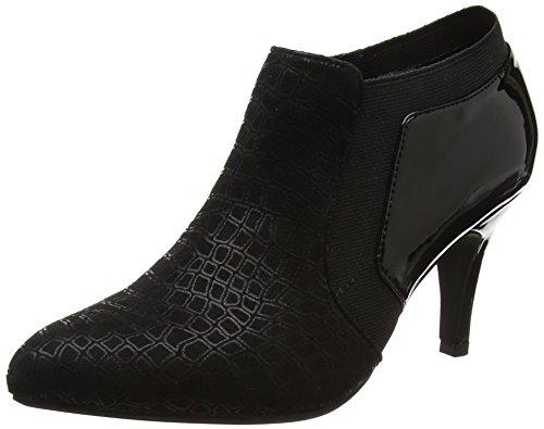 Lotus Women's Pacta Closed-Toe Heels, Black (Black Print), 5 UK 38 EU