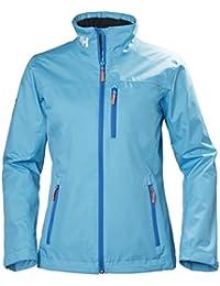 Helly Hansen W Crew Midlayer Jacket - Chaqueta para Mujer, Azul (Light Blue 518