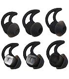 alxcd Almohadillas para Bose SoundSport Libre Auricular, S/M/L 3Par de Repuesto Suave Silicona Earbud Consejos, apropiado para Bose quietcontrol 30QC30Sonido Deporte Libre Auricular