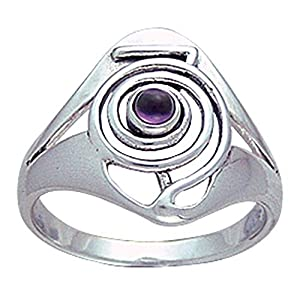 Alterras – Ring: Cho Ku Rei Ring aus 925-Silber m. Edelstein(en)