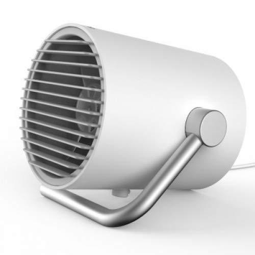 Bluelover Creater Mini Desktop Usb Lüfter Portable Fan Natur Wind Minimalistisches Design Schwarz Weiß Pink Style - Weiß