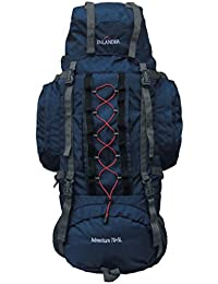 Inlander A2ZINL2007NBRS Polyester Rucksack with Rain Cover, X-Large (Navy Blue)