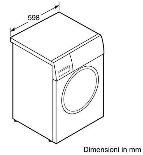 Bosch Maxx 4 WTH83008IT Libera installazione Carica frontale 8kg A+ Bianco asciugatrice