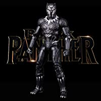 BFFDD Avengers Roles Black Panther Toy Model 3D Statues Home Office Decoration Collectibles - 7.1 Inchs