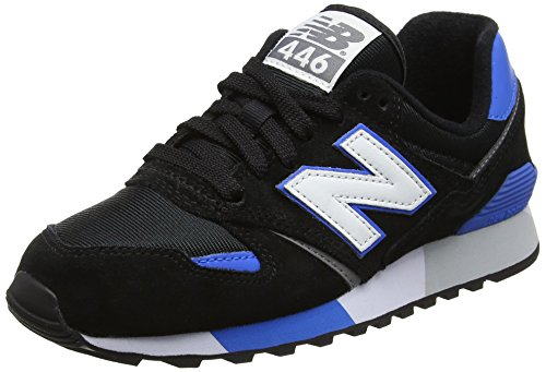 New Balance U446bn, Sneakers basses mixte adulte Multicolore (Black/Blue)