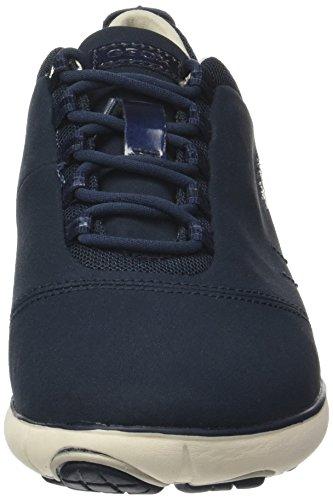 7cf0351707906e Geox Damen D Nebula A Sneaker Blau Navy -schuetz-roland.de