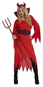 My Other Me Me-204219 Disfraz de diablesa para mujer, M-L (Viving Costumes 204219