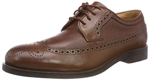 Clarks Herren Coling Limit Brogues, Braun (British Tan), 42.5 EU