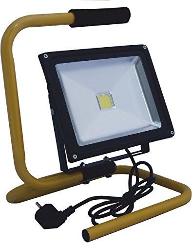ecoe nergy EE de 09–113 Projecteur Phare/Phare, aluminium, 30 W, noir, 24 x 30 x 30 cm