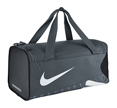Nike Sporttasche Alpha Adapt Crossbody Medium Duffel, BA5182-064, Flint Grey/Black/White, 61 x 28 x 28 cm,  47 Liter