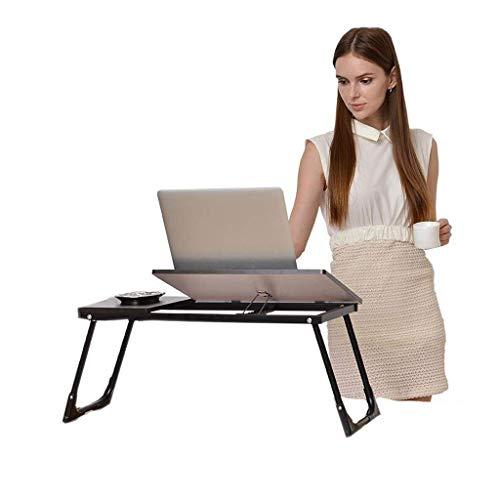 Schwarz Bett Computer Tisch Klapplift Einstellbare Kombination Kunststoff Standard Schlafsaal Einfache Faule Lernen 65 cm * 30 cm MUMUJIN -