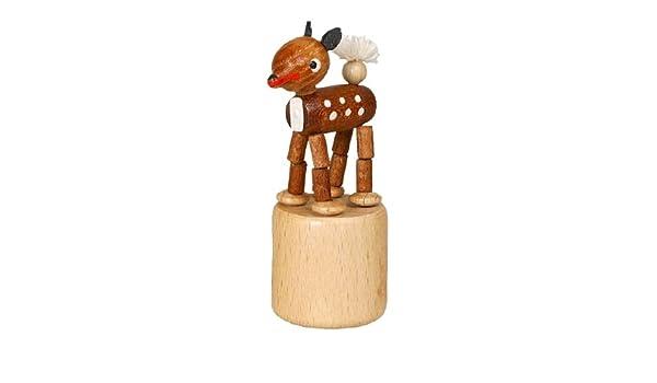Wackeltier Elefant Wackelfigur Seiffen Erzgebirge Spielzeug  NEU