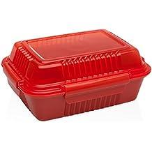 Aladdin 10-01452-013 - Porta alimentos, 0,7 l, color rojo