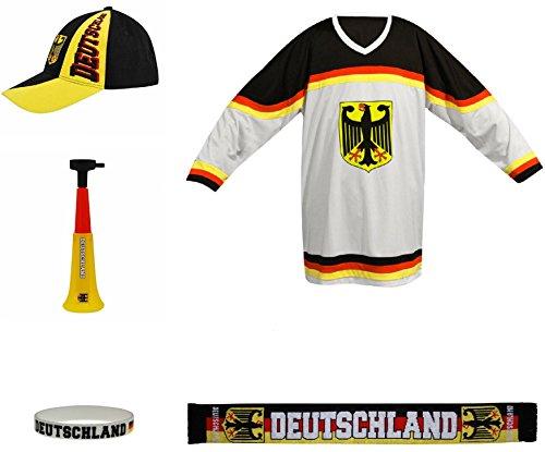 SportTeam SET - 5 Stücke DEUTSCHLAND Kneipe-Paket Eishockey