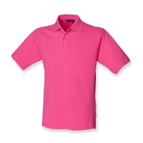 Henbury -  Polo  - Uomo rosa fucsia