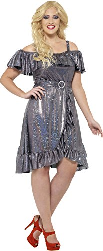 Plus Size 1970s Disco Diva Dress Costume. Choice of Sizes