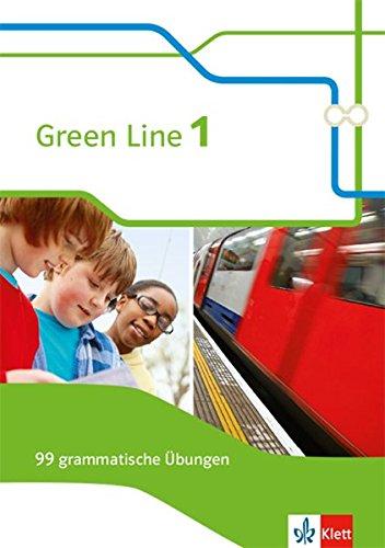Green Line. Arbeitsheft 5. Klasse. 99 grammatische Übungen mit Lösungen