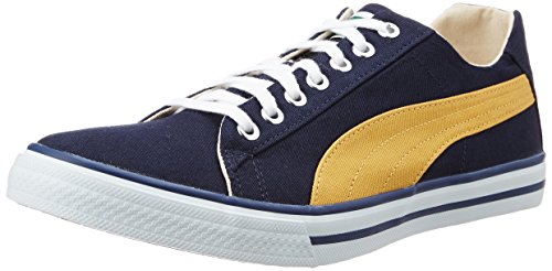 Puma Unisex Hip Hop 5 Idp Peacoat and Bright Gold Sneakers - 10 UK/India (44.5 EU)