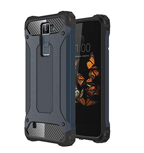 Foto de kio Galaxy S5Funda [tanque esquinas reforzadas] Protección de Heavy Duty–Carcasa Suave Cápsula & Hard PC Cover flexible Shock de absorción de Amortiguador para Galaxy S5