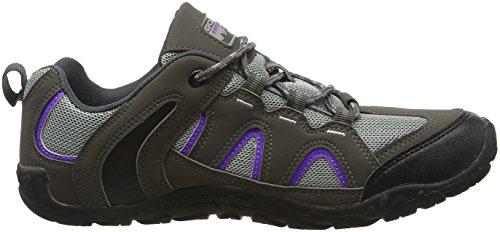 Gola Damen Elias Trekking-& Wanderhalbschuhe Grau (Grey/purple/black)