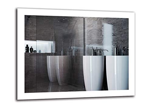 Espejo LED Premium   Dimensiones Espejo 90x70 cm