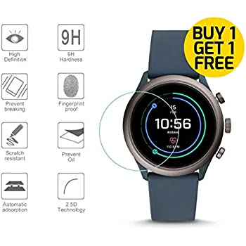 Gear Guard Screen Protector For Fossil Sport Smartwatch 41mm