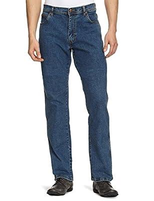 Wrangler Men's Texas Stretch Denim Jeans Stonewash