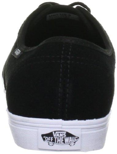 Vans Madero, Unisex - Erwachsene Sportschuhe - Skateboarding Schwarz (Black)